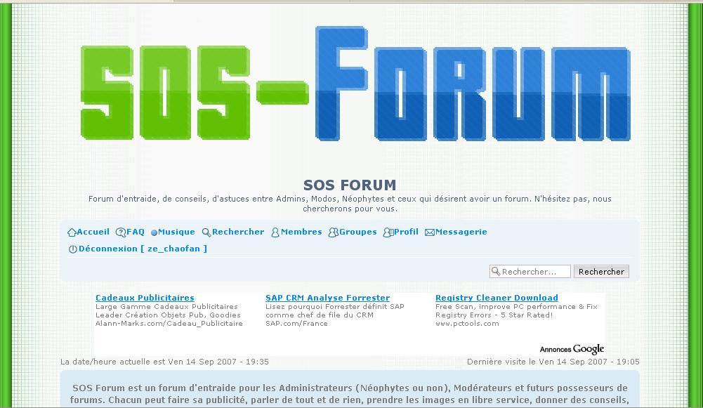 SOS Forum : Forum d'entraide Part0110