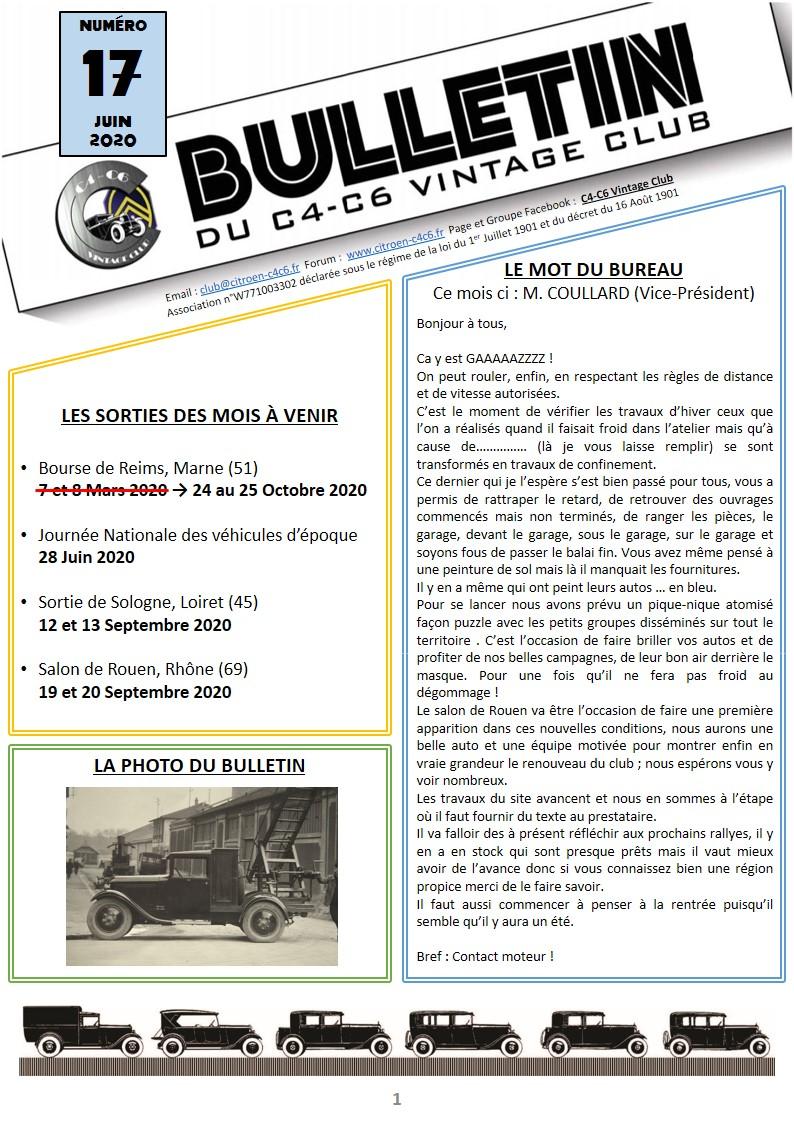 Bulletin du Club n°17 Diapos17