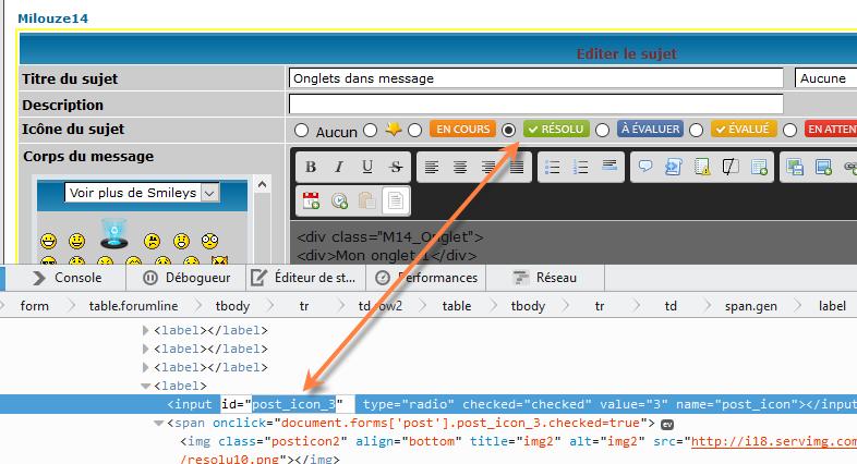 [PHPBB2] Afficher le bouton résolu sur les messages 0310