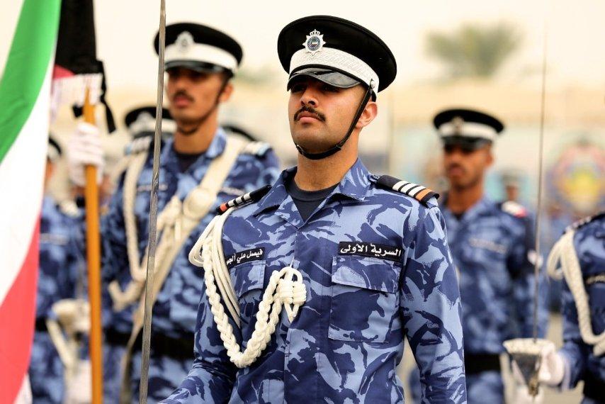 Kuwaiti Police Blue DPM camo Koweit11