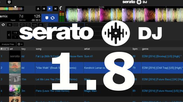 SERATO DJ 1.8 ANALISI TONALITÀ E REMAP Serato10