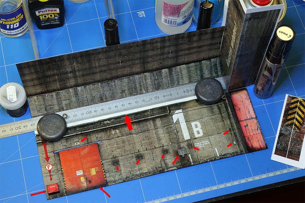 Hangar bunker ''REIMAHG-Werk Lachs'' (1:72 USCHI) Img_4726