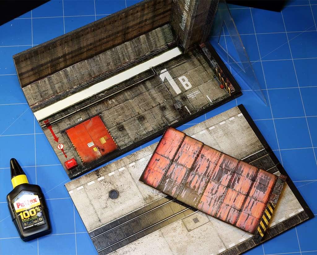 Hangar bunker ''REIMAHG-Werk Lachs'' (1:72 USCHI) - Page 2 Img_5219