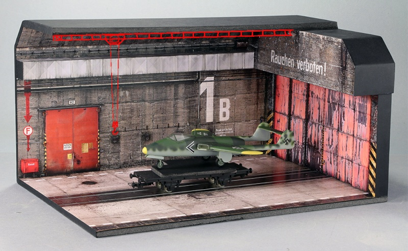 Hangar bunker ''REIMAHG-Werk Lachs'' (1:72 USCHI) - Page 2 Img_5221