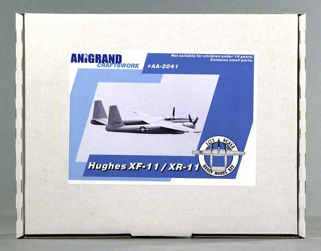 Hughes XF-11 (1/72, Anigrand) Img_5526