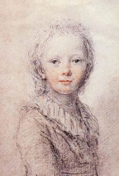 Portraits des dauphins Louis-Joseph ou Louis-Charles ? Louis-11