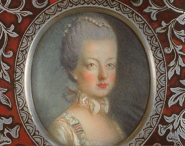 Portraits de Marie-Antoinette, Dauphine - Page 2 Ma_17610