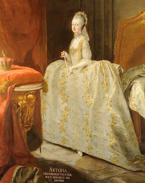 Portraits de Marie-Antoinette, Dauphine - Page 2 Ma_dau10