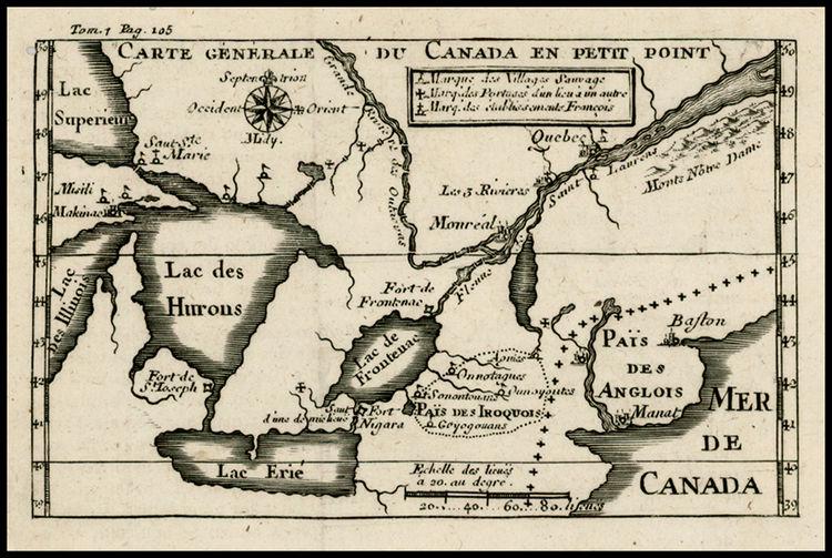 colonisation - Baron de Lahontan 2575610