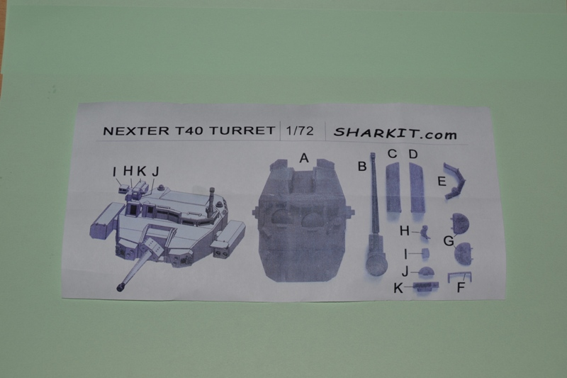 [SHARKIT] Tourelle NEXTER T-40 1/72ème 410