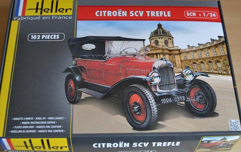 [HELLER] Citroën 5CV TREFLE 1/24e Dsc_0040