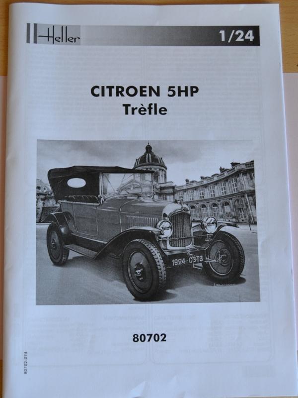 [HELLER] Citroën 5CV TREFLE 1/24e Dsc_0052