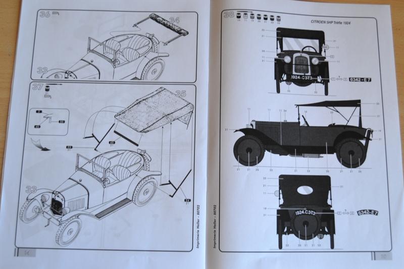 [HELLER] Citroën 5CV TREFLE 1/24e Dsc_0058