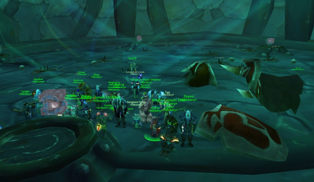 Magtheridons Lair cleared Wowscr13