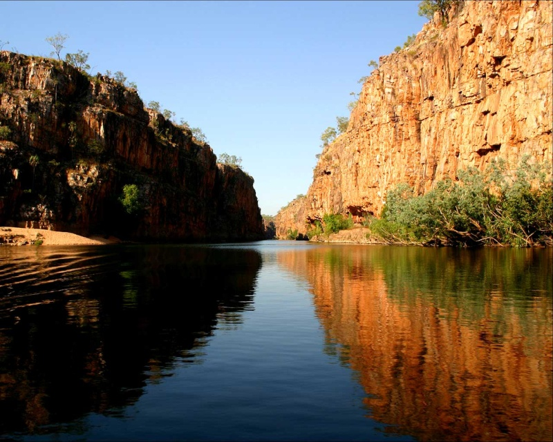Gorges de Katherine (Nitmiluk National Park) - Australie Gorge_17