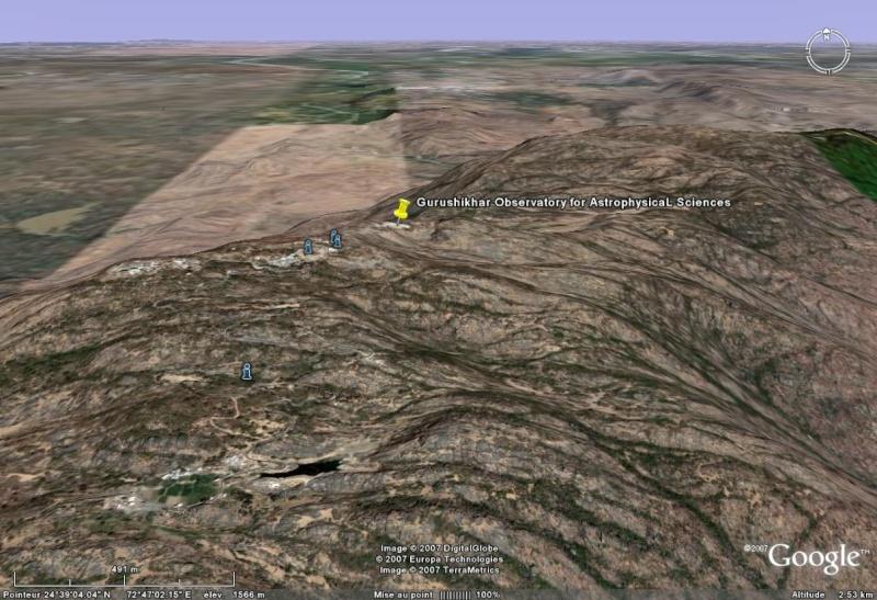 Observatoires astronomiques vus avec Google Earth - Page 8 Gurush10