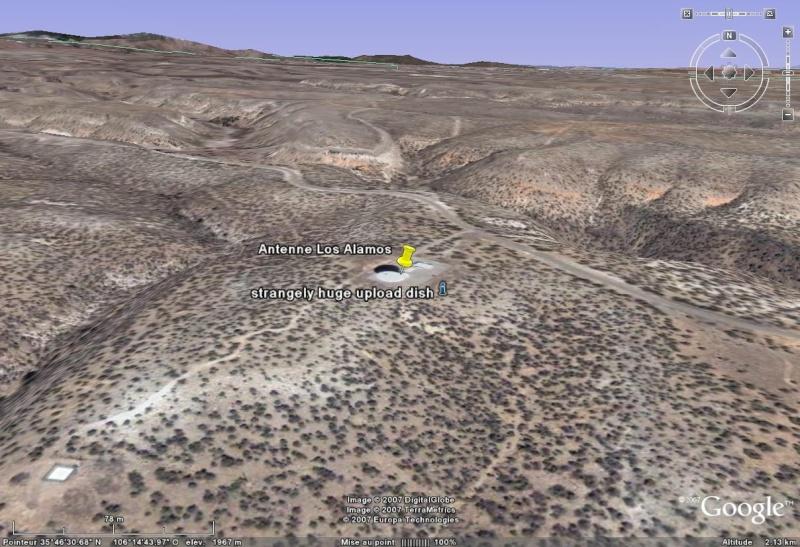 Observatoires astronomiques vus avec Google Earth - Page 8 Los_al10