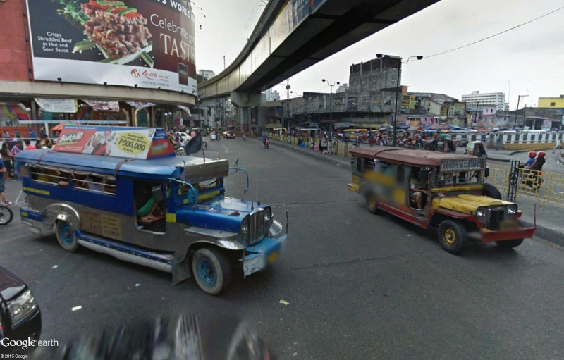 STREET VIEW : à la découverte des Jeepneys - Philippines Sans_182