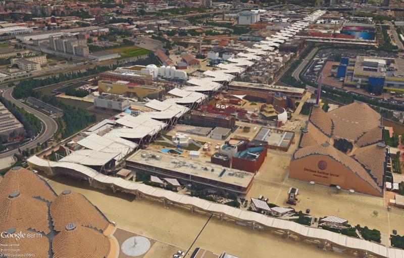 [Désormais visible dans Google Earth] L'Exposition Universelle 2015 à Milan - Italie Sans_230