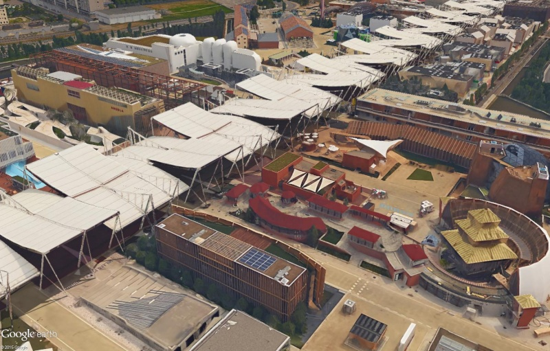[Désormais visible dans Google Earth] L'Exposition Universelle 2015 à Milan - Italie Sans_231