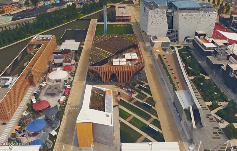 [Désormais visible dans Google Earth] L'Exposition Universelle 2015 à Milan - Italie Sans_234