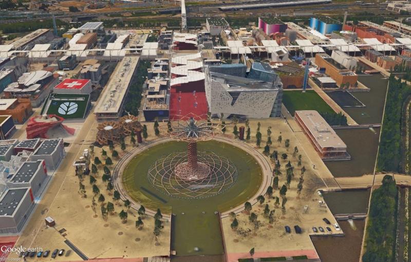 [Désormais visible dans Google Earth] L'Exposition Universelle 2015 à Milan - Italie Sans_235