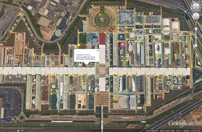 [Désormais visible dans Google Earth] L'Exposition Universelle 2015 à Milan - Italie Sans_236