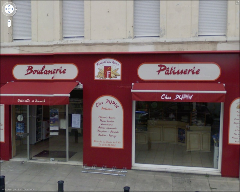 STREET VIEW : les façades de magasins (France) Dupin10