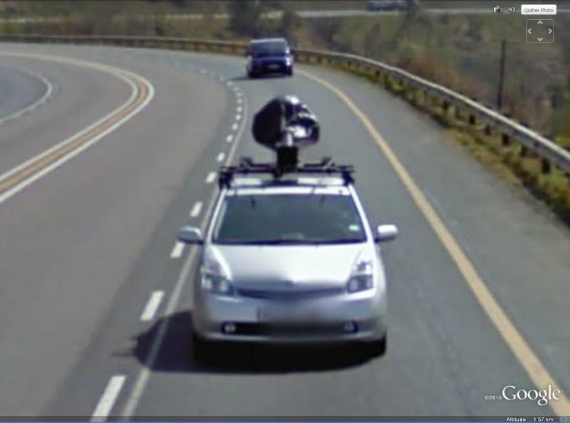 STREET VIEW : la Google car dans tous ses états ! - Page 3 Gcar10