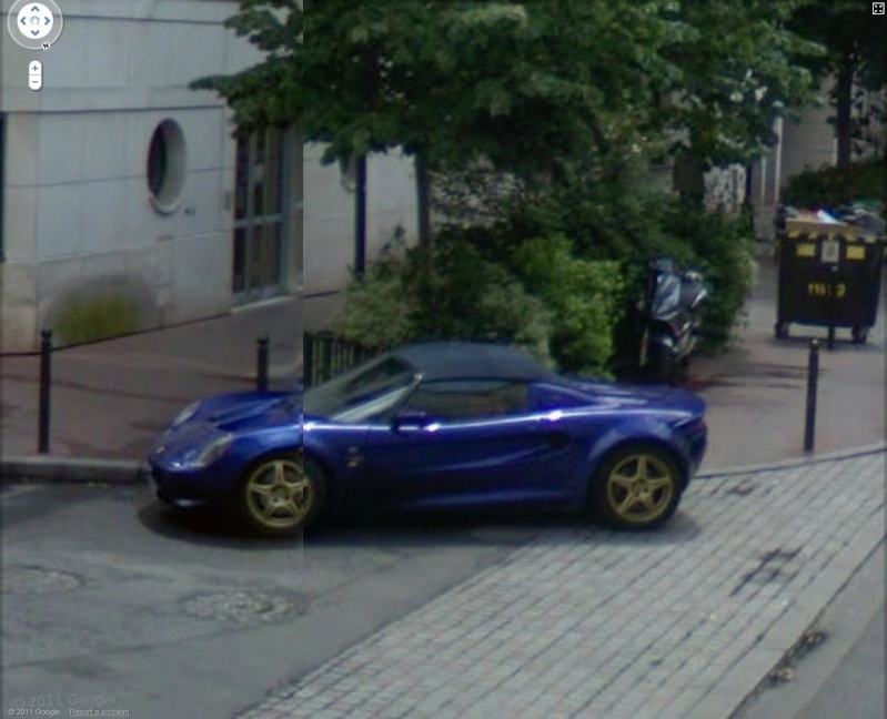 STREET VIEW : belles voitures (France) - Page 8 Lotus10