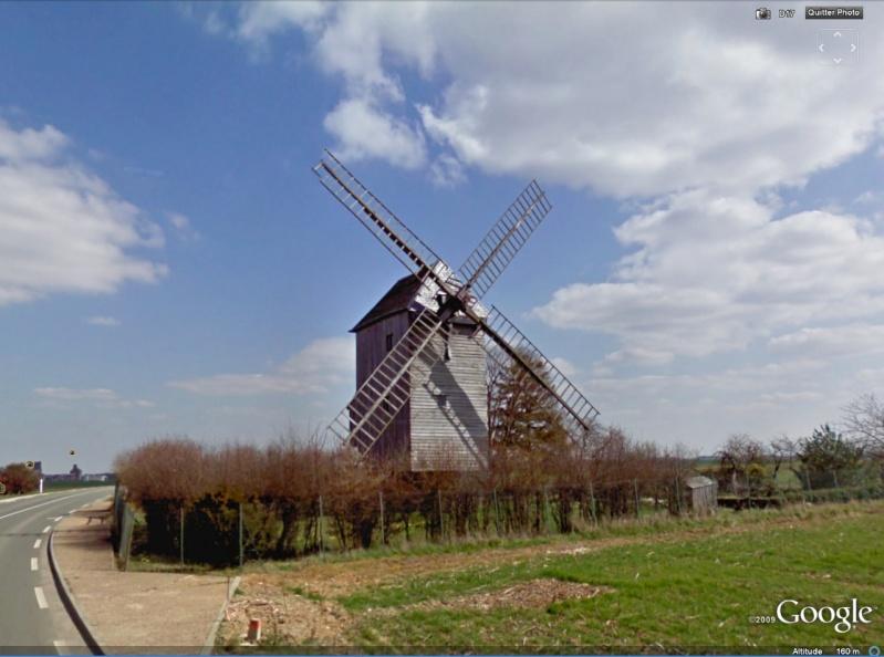 STREET VIEW : Les moulins a vent Moul910