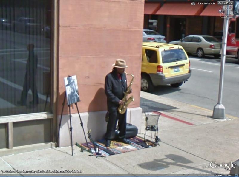 STREET VIEW : Musique de rue Saxo10