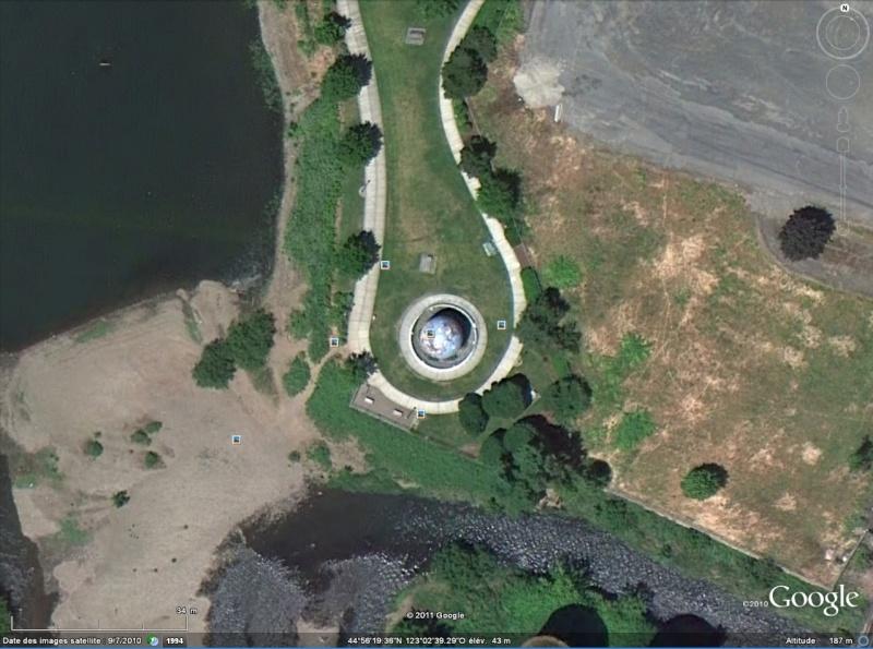 Globes terrestres visibles depuis les cieux Terre210