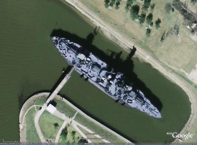 USS Texas, Port de Houston, Texas Texas10