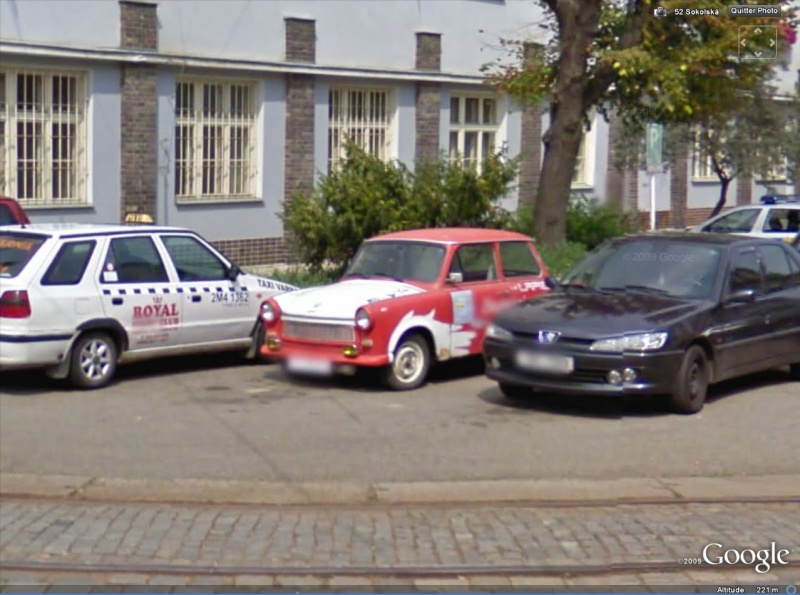 STREET VIEW : le Tuning Traban10