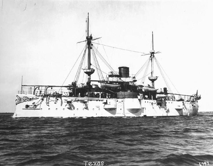 USS Texas, Port de Houston, Texas Uss10