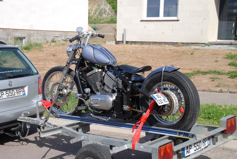 800 VN - transfo d'un vn 800 A en vrai chopper old school .. Dsc_0111
