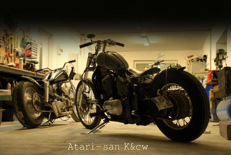 800 VN - transfo d'un vn 800 A en vrai chopper old school .. Dsc_0113