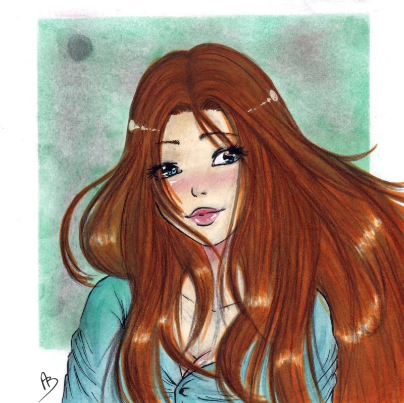 mes petits dessins ^^  - Page 6 Luna310