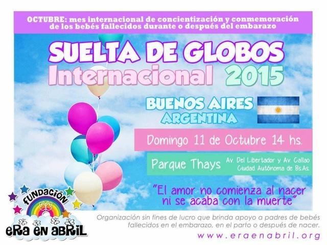 11/10/15: SUELTA DE GLOBOS BUENOS AIRES 2015 12118811
