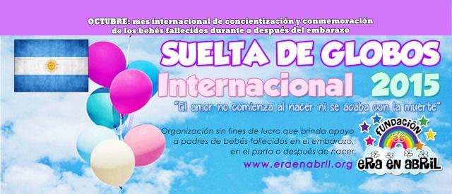11/10/15: SUELTA DE GLOBOS BUENOS AIRES 2015 Argent11
