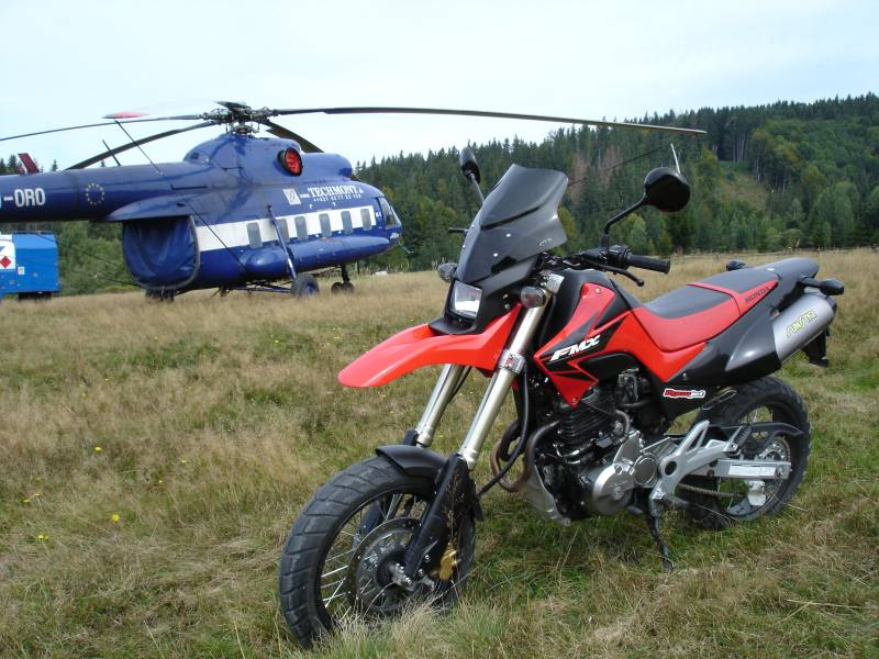 MOTOGALERIA NASICH FMX650 A PODOBNYCH MOTO. H3310