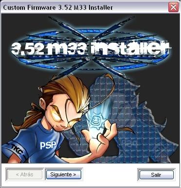 Custom Firmware 3.52 M33 Installer 6bvgbh10