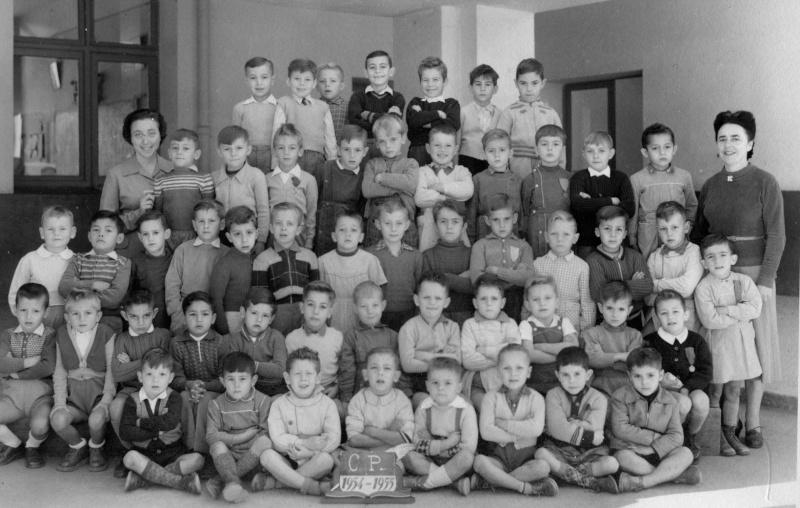 """l'Ecole des Frères de la Salle et des """"Oliviers"""" 1954_510"""
