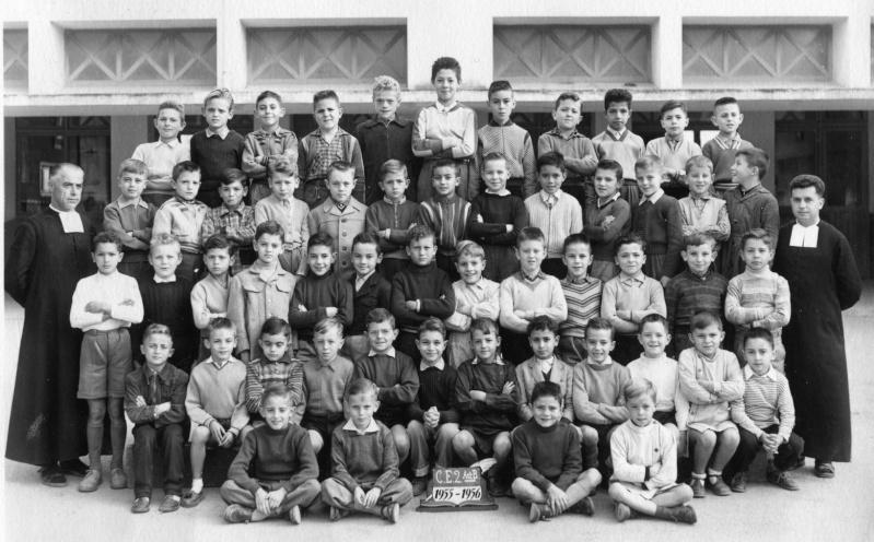 """l'Ecole des Frères de la Salle et des """"Oliviers"""" 1955_510"""