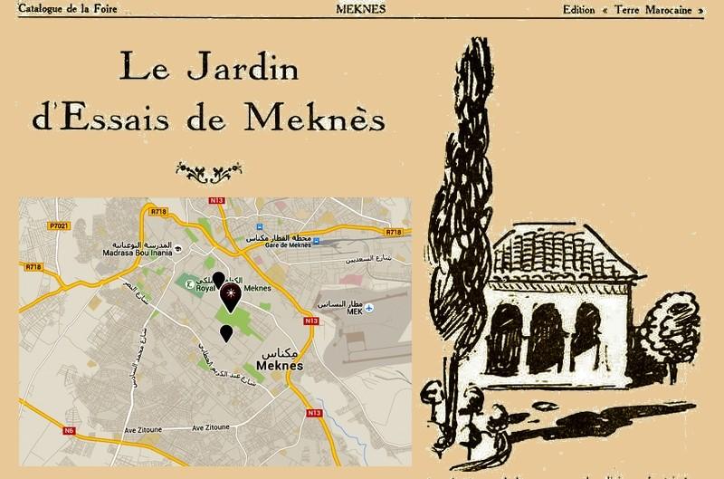 L'Ecole D'Horticulture de Meknès Jardin12