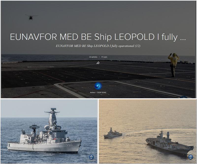 Le frégate Léopold I part en Méditerranée F930a10