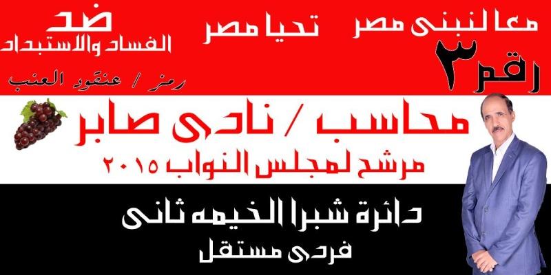 دعوة لتأييد المحاسب/ نادى صابر مرشح لبرلمان 2015 عن شبرا الخيمة ثان / محافظة القليوبية 210