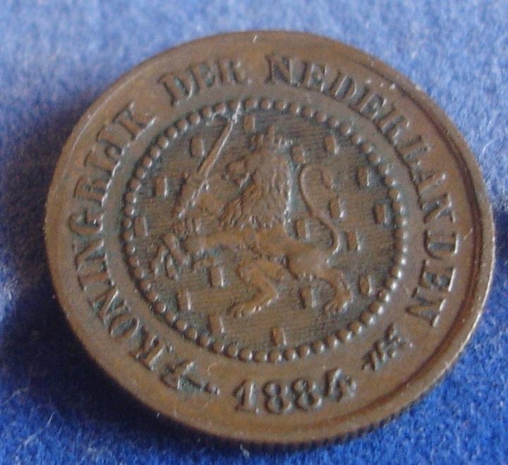 1/2 Cent. Holanda. 1884. Utrecht Dsc00325