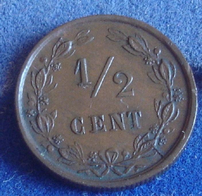 1/2 Cent. Holanda. 1884. Utrecht Dsc00326